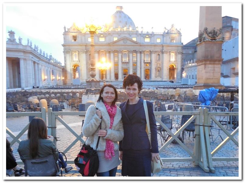 4.С Аней из Польши 9 мая: 2 влюбленных в Италию преподавателя и «видео-мейкера» )) познакомились час назад