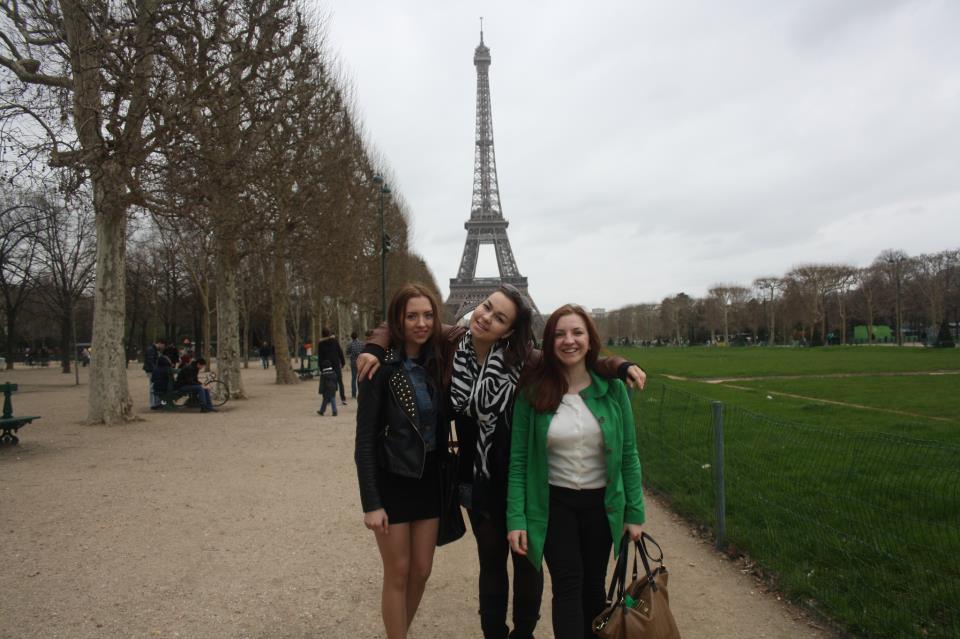 русские в Париже